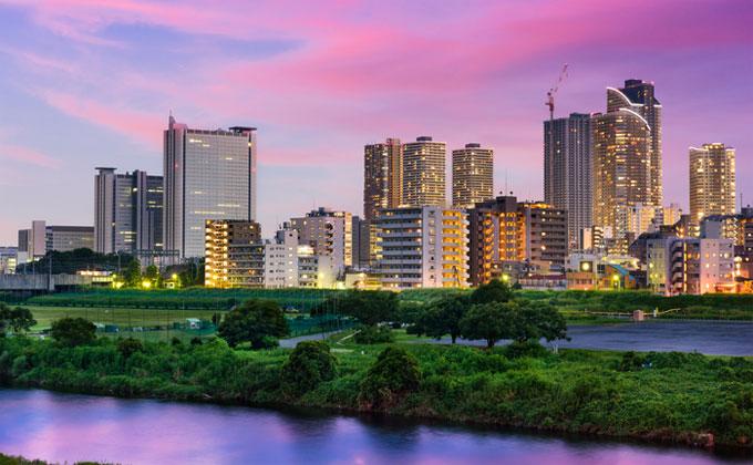 川崎堀之内ソープ街の風景